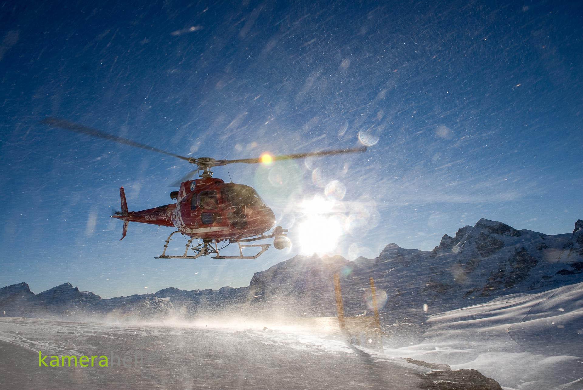 kameraheli @ Zermatt